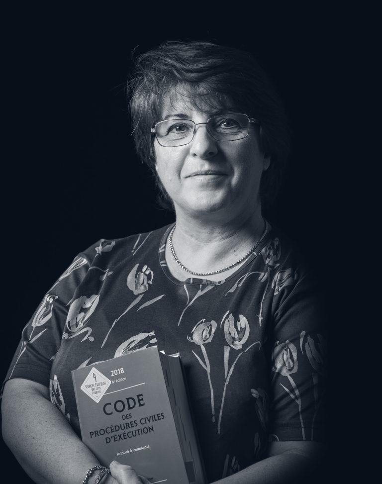Brigitte Chautrand - portrait